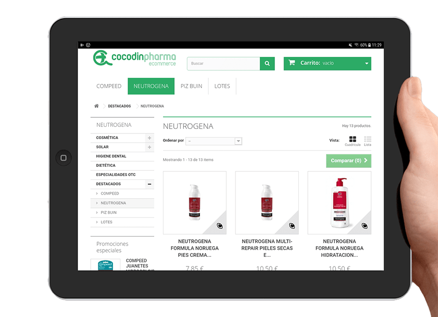 Ecommerce-Cocodin-Pharma